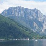 Der Traunstein in Gmunden