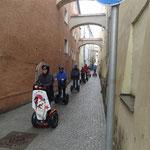 Segway-Tour durch Passau