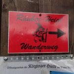 Wanderung zur Räuber-Heigl-Höhle