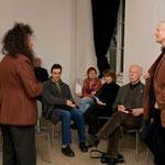 """Jürgen Link, Vortrag: """"Wo eigentlich liegt das Feld der Künste ? Überlegungen zu ihrer diskursiven Verortung im Dreieck Bourdieu – Luhmann – Foucault"""", Mai 2010"""
