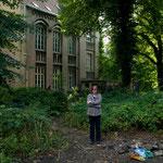 im Garten des Atelierhauses, September 2010