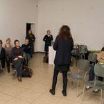 """Vortrag von Eva Schmidt: """"Die radikale konkrete Begründung der ästhetischen Form im Werk Charlotte Posenenskes"""", Februar 2009"""