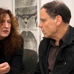 Kunstspur 2007, Doris Schöttler-Boll im Gespräch mit Rainer Komers
