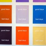 MARIJKE VAN WARMERDAM: Good Days, Bad Days 1996 Siebdruck auf Papier