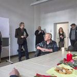 Runder Tisch im Atelierhaus Alte Schule, 8. Dezember 2016