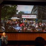 Marianne Menze erinnerte an die Bürgerbeteiligung