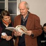 Maria Muhle und Jürgen Link, Februar 2008, Vortragveranstaltung von Maria Muhle über den französischen Philosophen Jacques Rancière