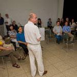 """Rolf Dennemann präsentiert """"Kein Wasser runterschütten"""", STEELE.2010 – Kulturhauptstadt vor Ort, Juli 2009"""