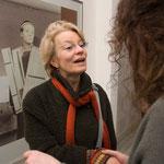 Sabine Kippenberger-Steil, Besucherin des Vortrags von Doris Krystof, Dezember 2008