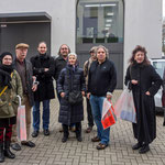 2014-01: Gruppenbild vor der Julia Stoschek Collection