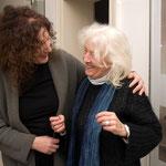 Besucherin der Vortragsveranstaltung mit Doris Krystof, Dezember 2008