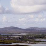 Lochmaddy (North Uist) vom North Lee gesehen