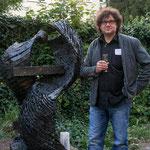 Kunstspur, Einweihung einer Skulptur von Ulrich Krämer, September 2013