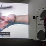 """Ed Atkins, """"Warm, Warm, Warm Spring Mouths"""", 2013, Einkanal-HD-Videoinstallation"""