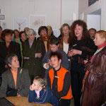 Timms Abschied - Ausstellung Tim Weltermann 2.10.2004