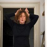 Doris Schöttler-Boll, August 2007 in ihrer Wohnung im Atelierhaus