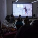 Kunstspur, Videoraum Erwin Wiemer, September 2013