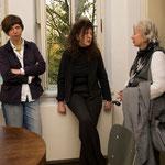 """Vortrag von Elke Bippus """"Zeichnen und Schreiben als forschende Praktiken"""", April 2010"""