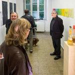Kunstspur, Raum u.a. mit Skulpturen von Anja Hussmann, September 2013