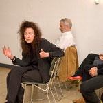 """Diskussion nach dem Vortrag von Michael Girke """"Bilder trotz allem"""", Mai 2009"""