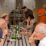 Gespräche nach der Ruhrtext-Lesung mit Florian Neuner, Juli 2010