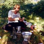 Kochen mit Esbitkochern