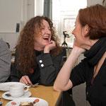 Besuch im Künstlerhaus Dortmund im März 2008, Doris Schöttler-Boll mit Rona Rangsch