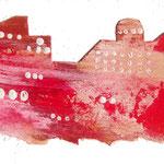 赤い煉瓦の町