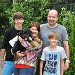 08.08.2014 19:00 Uhr- Oreos neues Zuhause: Yannick, Corina, Christoph & Hendrik aus Hundsbach