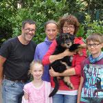 17.08.2014 17:00 Uhr- Olilys neues Zuhause: Ralf, Fiona, Leonie, Christina und Linus aus Werdau