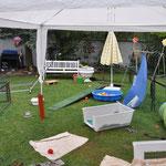 Blick in das Kinderparadies :)  30.07.2014