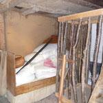 Gnomenbett und -käfig noch im Winterschlaf