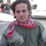 Schnuppergnom Scott kam bei diesem Wetter gleich mit dem Motorrad zur Besammlung