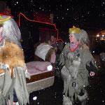 im Bett wird es heute mit zusätzlicher  Schneeschicht sicher gemütlich!