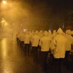 Mottogetreu: mystisch in Nebel gehüllt