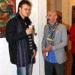 Гарри Юхвец (справа)