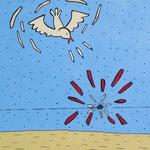 Zwei und die Taube darüber - 2003