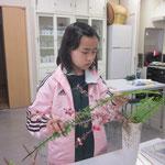 玉しだの若草色は、とてもやさしくやわらかな印象です。