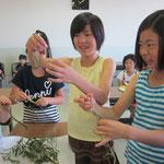 もうひとつの今日のテーマは「それぞれの植物の特長を知る!」