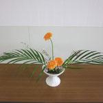 Kazuhaさんの作品です。 伸びやかです。お花が笑っているみたい。