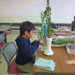 2015.1.17 「花瓶にいける!」 傾斜型とたてるかたち
