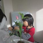 花材/チューリップ② スイートピー③ ゴッドセフィアナ②