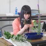 花材2/リアトリス③ シャクヤク② かすみ草