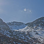 Madrisahorn und Aufstiegsrinne