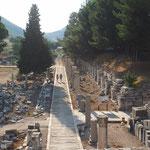 Ephesos - die Straße zum Meer (als es noch da war)