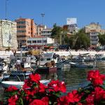 Ein schöner Abschied: Hafen von Gelibolu