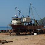 Bootswerft zwischen Kultak und Sarnicköy