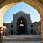 Guckloch zur Jame-Moschee