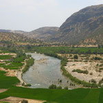 Fruchtbare Flusstäler im Zagros-Gebirge