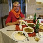 Iranischen Eintopf mit Reis - und natürlich Istak!